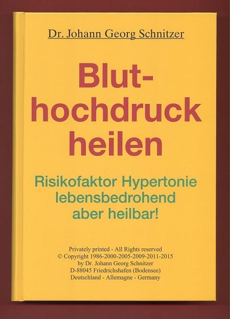 Buch Bluthochdruck heilen