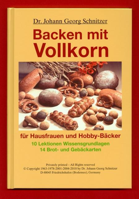 """Buch """"Backen mit Vollkorn"""""""