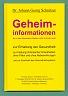Buch 'Geheiminformationen, die in den Mainstream-Medien nicht zu finden sind'